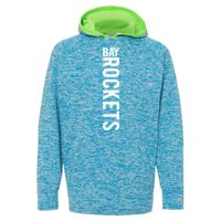 8610 Youth Cosmic Fleece Hooded Pullover Sweatshirt Thumbnail